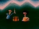 ☭☭☭ Советский мультфильм Обратная сторона Луны 1984