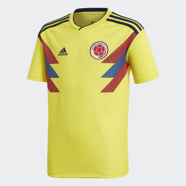 Домашняя игровая футболка сборной Колумбии