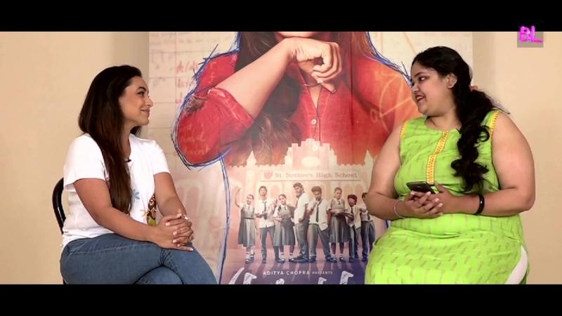 Rani Mukerji reveals her biggest Hichki