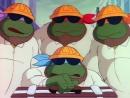 Черепашки Мутанты Ниндзя 3 Сезон 25 Серия «Налётчики из измерения «Икс»» 1987