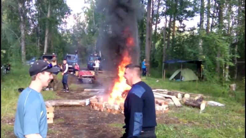19 августа 2017 Ночное Ориентирование (Базовый лагерь)