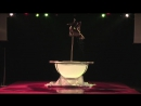 Красивый танец на пилоне и в воде - Ада Оссола