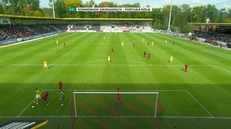 Highlights SG Sonnenhof Großaspach vs. Fortuna Köln