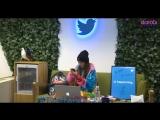 [OTHER] 180321 Дара поделилась фрагментом ее соло-песни во время трансляции в Твиттере
