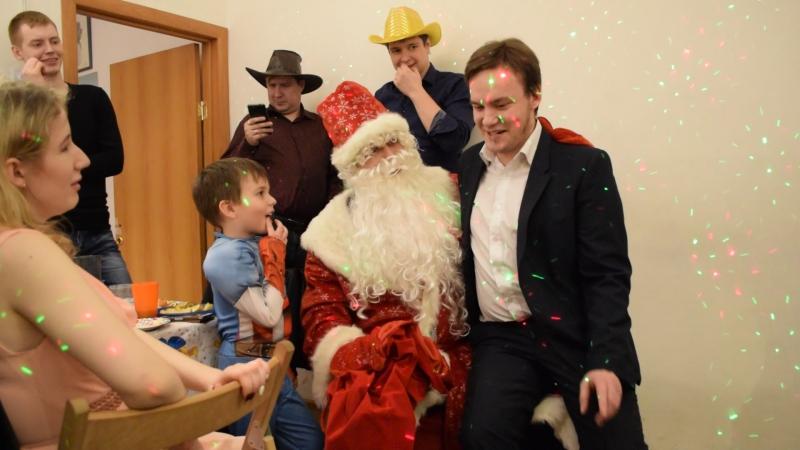 Дед Мороз г н Сектант и г н Жидомасон