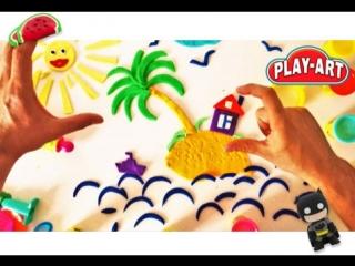 НОВИНКА ДЛЯ РАЗВИТИЯ ДЕТЕЙ - 3D пластилин «PLAY ART»