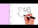 How to Draw a Cute Cat Easy Sanrio Charmmy