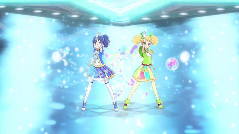 Aikatsu TV 2 Episode 6 56 Prism Spiral Kii Saegusa Aoi Kiriya 1080p