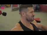 Фитнес Трансформация из Лыжника в Mens Physique. До и После. Тренировка спины и дельт. Илья Лебедев