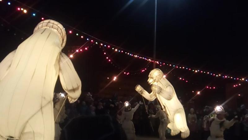 Французский театр «Remue Menage» шоу Gueule d'ours (Медвежья пасть) Казань 31.12.2017