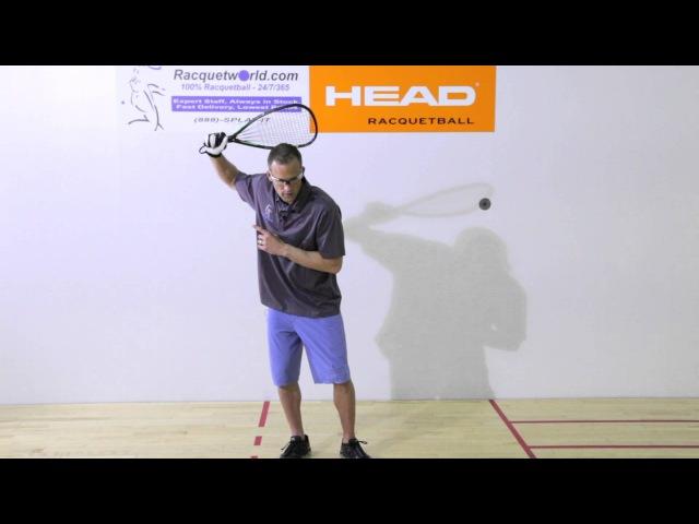Rocky Carson Racquetball Forehand Tip