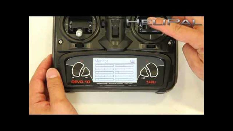 HeliPal.com - Walkera DEVO 10 10-Channel 2.4Ghz Digital Radio System