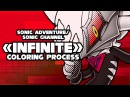 Sonic Channel Infinite Speedpaint coloring process