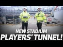 PLAYERS' TUNNEL! | HUGO LLORIS AND HARRY KANE AT SPURS NEW STADIUM