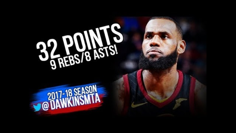 LeBron James Full Highlights 2018.02.22 Cleveland Cavaliers vs Washington Wizards | FreeDawkins