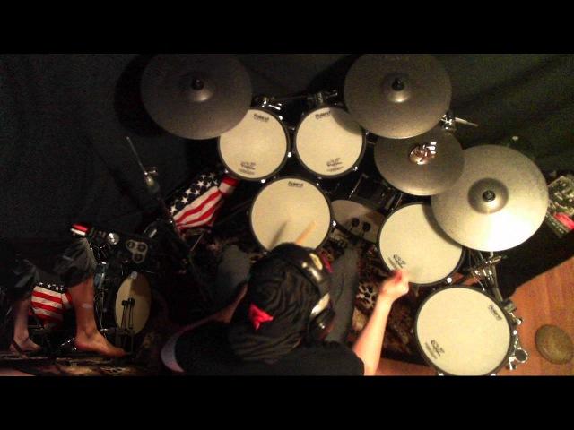 Fear Factory Slave Labour Drum Cover