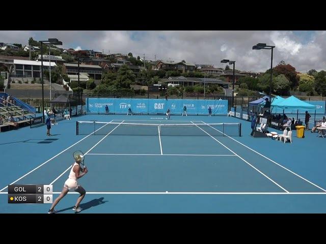 Golubic Viktorija v Kostyuk Marta - 2018 ITF Burnie