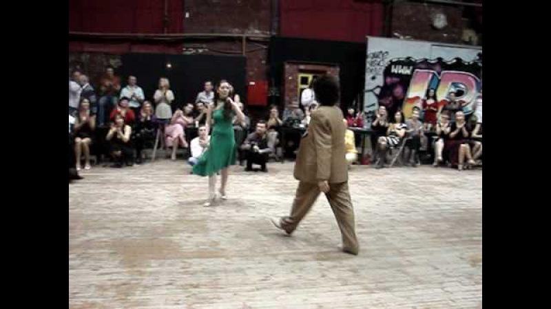 Federico Naveira y Ines Muzopappa. Tango. Moscow. Planetango2