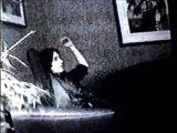 TRENT REZNOR  NIN LISTENS TO GARY NUMAN'S TELEKON ALBUM (THE JOY CIRCUIT) BACKSTAGE.
