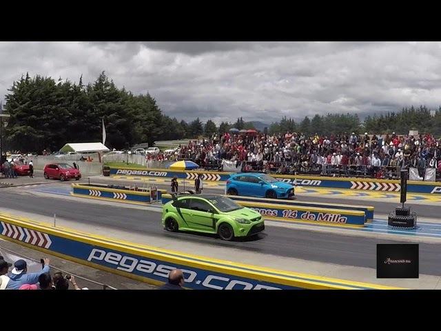 Focus RS MK3 Azul vs Focus RS MK2 Verde | Septiembre 2017