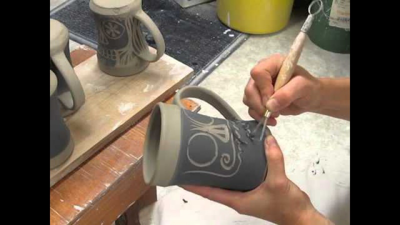 Colectivo Coffee Mugs by Jean's Clay Studio Limited Edition 2013