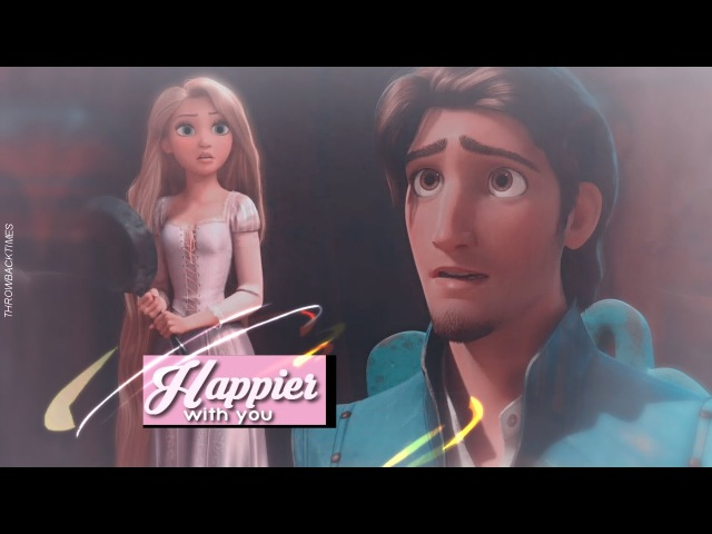 Rapunzel Eugene happier with you