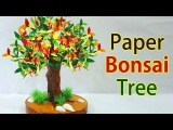 Amazing! Easy Bonsai DIY Paper Tree Tutorial Best Out of Waste Craft