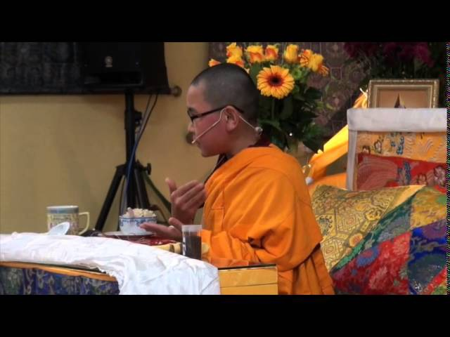 Phuntsok Rinpoche at HBC August 2015 QandA