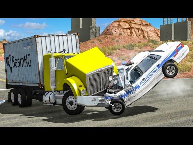 Не пропустил Ошибка водителя Столкновение Поучительный игровой мультик для мальчиков Авария ДТП