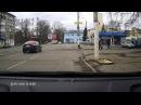 тверские дебилы на дороге