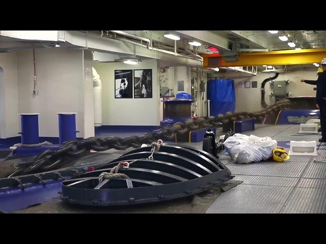 Sailors Anchoring A 100,000-Ton Supercarrier: USS Gerald R. Ford Precision Anchoring Exercise
