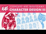 Concept Art BOOT CAMP 9 Character Design III (pro tools for getting a refined concept!)