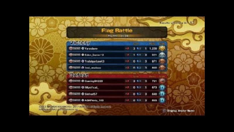 NARUTO TO BORUTO SS Beta Full 1 match gameplay