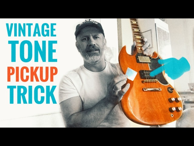 A SIMPLE TRICK that will give you instant VINTAGE HUMBUCKER TONE!