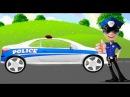 Мультики про Машинки для Детей Полицейские Машины Мойка Развивающие Мультфильмы
