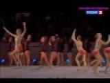 Russia Hoop + Clubs - 80th RG Anniversary Gala Show 2015