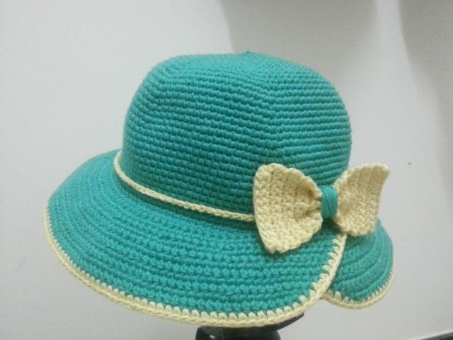 Crochet Hat Hướng dẫn móc mũ tiểu thư vành khuyết note hai dòng đầu sửa lại là 8x 8v
