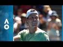 Fabio Fognini v Tomas Berdych match highlights (4R) | Australian Open 2018