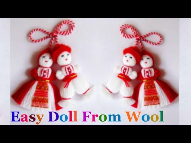 How to make yarnwool Doll step by step at home | DIY YarnWool craft idea