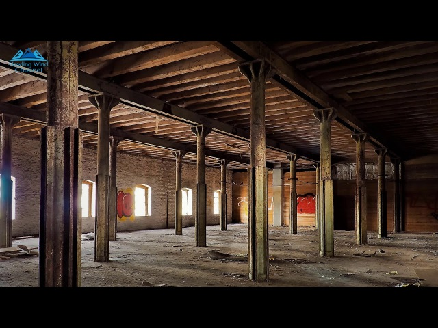 ENJOY THE SOUND OF WIND BLOWING THROUGH DESERTED BUILDING 8 HOURS OF RELAXING NATURE ASMR