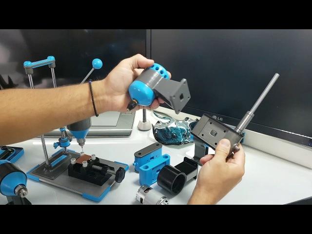 Сверлильный станок на 3D принтере