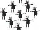 Новогодний танец оленей (гифка)