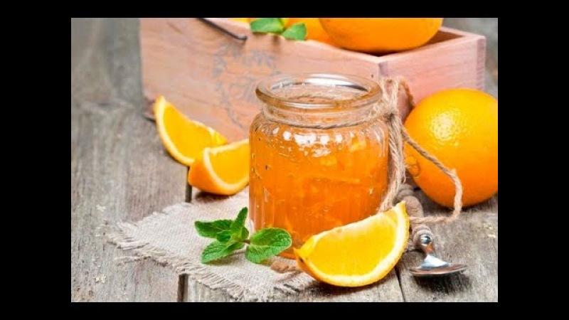 Апельсиновый джем с лимонами и имбирем.