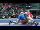 97 кг Евгений Коломиец (САХА) - Георгий Гогаев (Алания) / Чемпионат России 2017