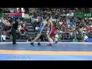 57 кг Михаил Иванов САХА - Адам Оздарбиев Дагестан / Чемпионат России 2017
