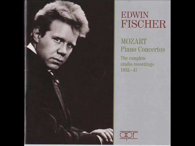 Mozart's Piano Concerto No. 25 - Edwin Fischer/Philharmonia/Krips