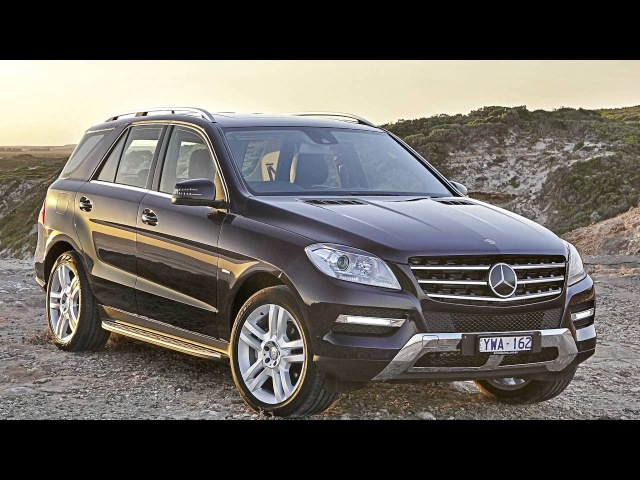 Mercedes Benz ML 250 BlueTec AU spec W166 2011–15