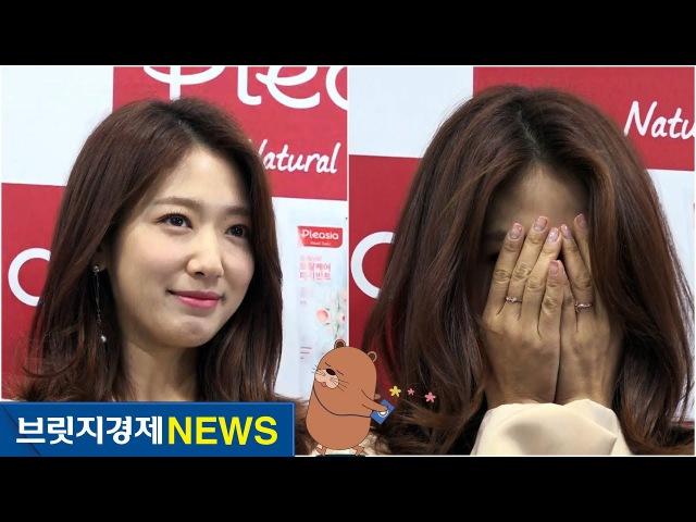 [브릿지영상] 박신혜(Park Shin Hye) 팬사인회, 수줍음 넘치는 미소…갑작스레 빵 터진 이50