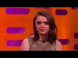 Maisie Williams Reveals Arya Starks Game of Thrones Kill List | The Graham Norton Show · #coub, #коуб