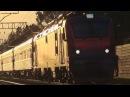 Электровоз ЭП20-035 Олимп со скорым поездом №306 Москва - Сухум